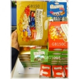 y994-GB150GT-GLODENBONBON 加拿大杏仁鳥結糖禮盒 - 軟滑綠茶味 150g,ALMOND NOUGAT ASSORTED GIFT BOX - GREEN TEA(1Bx16)