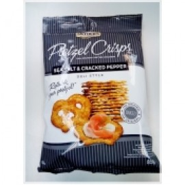 y958-SNYDER'S PRETZEL CRISP - SEA SALT & CRACKED PEPPER黑椒海鹽味脆蝴蝶餅  85G(1BX8)-SNY150499