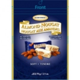 y994a-GB70S-GOLDENBONBON杏仁鳥結糖 - 軟滑原味 70g ALMOND NOUGAT - ORIGINAL SOFT(1BX24)