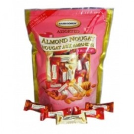 y985-GB800-C-GOLDENBONBON杏仁鳥結糖 - 香脆雜錦454g,CRUNCHY ALMOND NOUGAT ASSORTMENT(1Bx8)