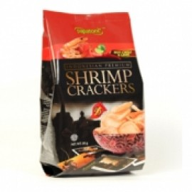 y975-UHC002-PAPATONK SHRIMP CRACKERS - HOT SPICK & LIME印尼冬蔭功味蝦片85 克(1BX24)