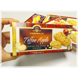 y859-CMBEC264 -蘇格蘭名牌CAMPBELLS Toffee Apple Cookies	125g x 12 Bags